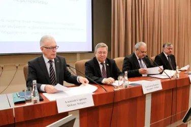 Выступление Алексея Сергеева - Генерального секретаря Совета МПА СНГ