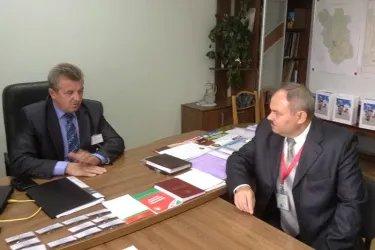 Встреча с председателем окружной комиссии №63 (г. Борисов)