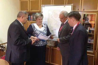 Работа в окружной комиссии №62 (г. Борисов)