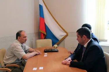 Встреча с Уполномоченным по правам человека в Псковской области Д. Шаховым