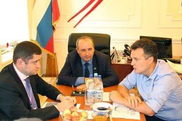 Встреча с председателем, заместителем председателя Избирательной комиссией Псковской области
