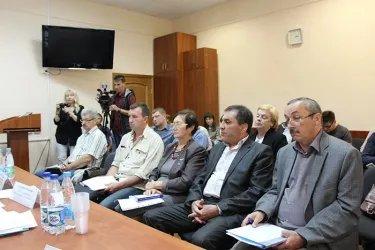 Участие в работе совещания Избирательной комиссией Псковской области