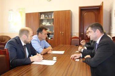 Встреча с заместителем Губернатора Псковской области М. Жаворонковым
