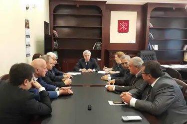Встреча с членами Санкт-Петербургской избирательной комиссии