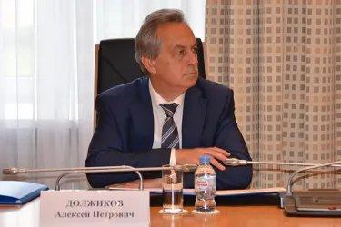 Организационное совещание группы наблюдателей от МПА СНГ в Санкт-Петербурге