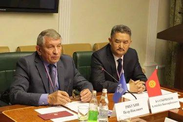 Организационное совещание группы наблюдателей от МПА СНГ в Москве