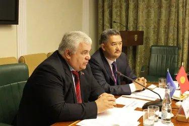 Встреча с Секретарем Центрального комитета КПРФ Казбеком Тайсаевым