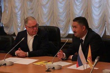 Встреча с членом фракции «Справедливая Россия» Александром Романовичем