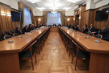 Встреча с членом Центральной избирательной комиссии Российской Федерации Василием Лихачевым