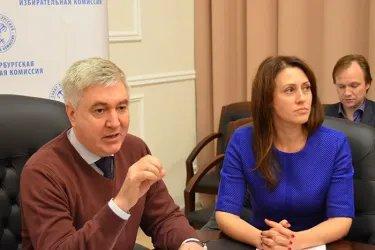 Встреча с председателем Санкт-Петербургской избирательной комиссии Виктором Панкевичем
