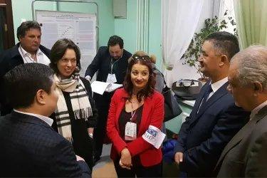 Наблюдатели от МПА СНГ на избирательных участках в Москве