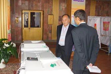 Наблюдатели от МПА СНГ на избирательных участках в Магаданской области