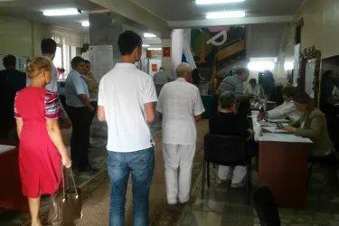 Наблюдатели от МПА СНГ на зарубежном избирательном участке в Кишиневе