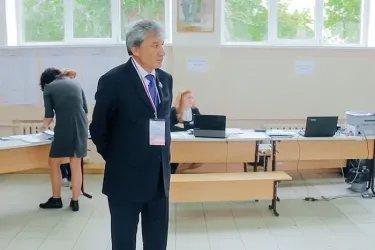 Наблюдатель от МПА СНГ на избирательном участке в Оренбурге