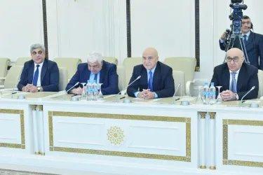Встреча с заместителем Председателя Милли Меджлиса  Валехом Алескеровым