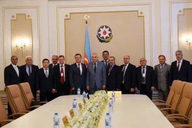 Встреча с Председателем ЦИК Азербайджанской Республики Мазахиром Панаховым