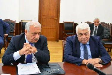 Встреча с представителями инициативной группы по проведению референдума «Гражданское общество»