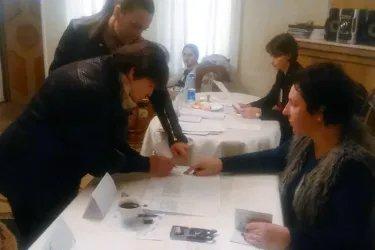 Зарубежный избирательный участок в Баку