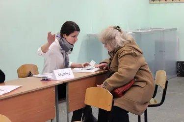 Зарубежный избирательный участок в Санкт-Петербурге