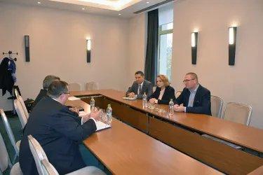 Встреча со специальным координатором Миссии ОБСЕ Артой Даде и главой делегации ПА ОБСЕ Гейром Йоргеном Беккевольдом
