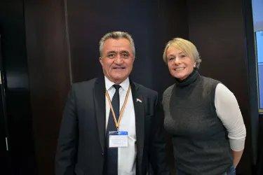 Встреча с главой миссии наблюдателей от ПАСЕ Элизабет Шнайдер-Шнайтер