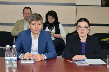 Встреча с Председателем ЦИК Республики Молдова Алиной Руссу