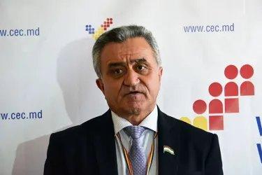пресс-подход Алексея Сергеева и Акрамшо Фелалиева