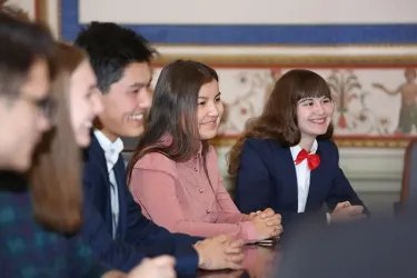 Победители конкурсов форума «Дети Содружества» в Таврическом дворце