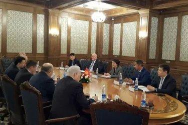 Встреча с Председателем ЦИК Нуржан Шайлдабековой