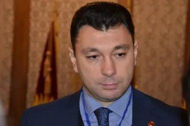 Пресс-подход координатора группы наблюдателей от МПА СНГ Эдуарда Шармазанова