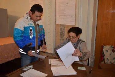 Наблюдатели от МПА СНГ на открытии избирательных участков в Бишкеке