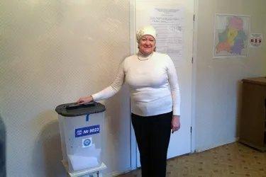 Зарубежный избирательный участок в Минске