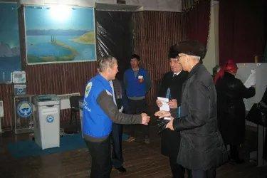 Наблюдатели от МПА СНГ на избирательных участках