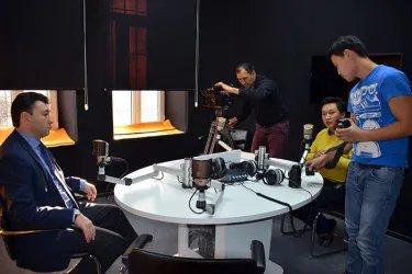 Координатор группы наблюдателей от МПА СНГ в эфире радиостанции «Спутник»