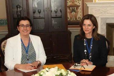 Встреча с Региональным директором ЮНФПА в Восточной Европе и Центральной Азии Аланной Армитаж