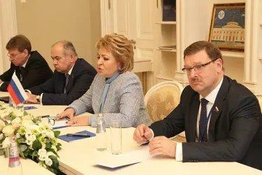 Встреча Валентины Матвиенко с Октаем Асадовым