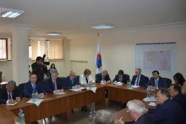 Встреча в штабе избирательного блока «Оганян — Раффи — Осканян»