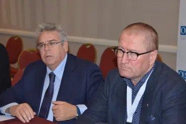 Встреча с Гейром Беккевольдом и Игнасио Санчес Амором
