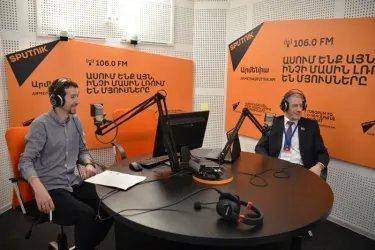 Наблюдатели от МПА СНГ на радиостанции «Спутник»