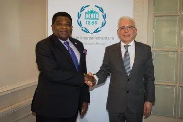 Встреча с Генеральным секретарем Межпарламентского союза Мартином Чунгонгом