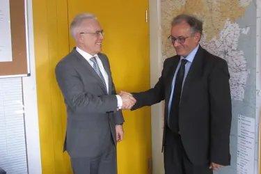 Встреча с директором Европейского бюро УВКБ ООН Венсаном Коштелем
