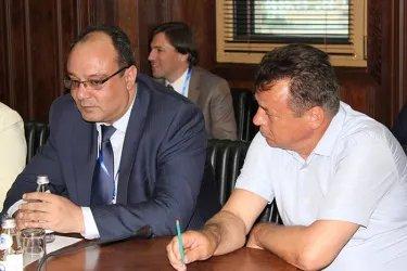 Встреча с Председателем ЦИК Республики Казахстан Бериком Имашевым