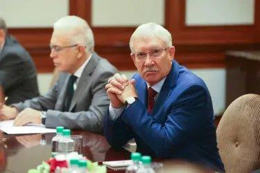 Встреча Валентины Матвиенко с Президентом Республики Молдова Игорем Додоном
