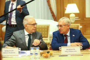 Встреча Валентины Матвиенко с Председателем Меджлиса Туркменистана Акджой Нурбердыевой
