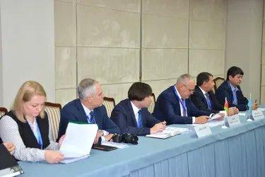 Организационное совещание группы международных наблюдателей от МПА СНГ