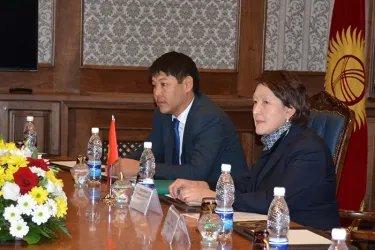 Встреча наблюдателей от МПА СНГ с Нуржан Шайлдабековой