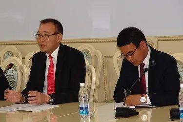 Встреча с Толкунбеком Абдыгуловым