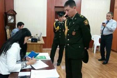 Наблюдатели от МПА СНГ на избирательном участке в Баку