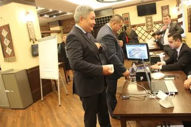 Наблюдатели от МПА СНГ на избирательном участке в Москве