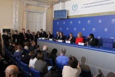 Итоговая пресс-конференция 137-й Ассамблеи МПС